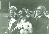 Newcomb College Prom Queen, Mary Livaudais Plauche, 1972