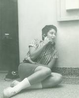 Newcomb College student, 1950s