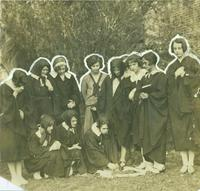 Newcomb College Students, 1926