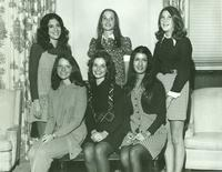Newcomb College Homecoming Court, 1972