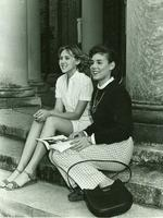 Newcomb College students, Anne Daniel and Jeanne Christensen, 1983