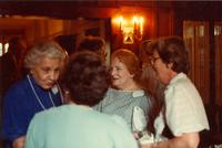 Newcomb College Graduates of 1933, 50 Year Club party, [1983]