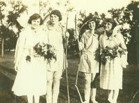 Newcomb College, Court of May Day, [1922]