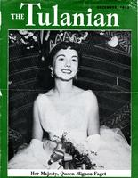 The Tulanian featuring Mignon Faget, December, 1953