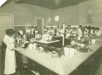 Newcomb College cooking class, [1880-1910]