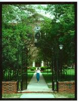 Newcomb College Catalog cover, 1986