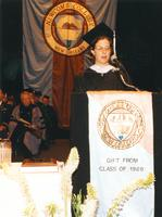 Newcomb College Commencement Ceremony, 1989