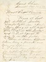 Letter to John B. Badger, 1861 October 16