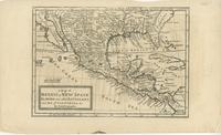 A Map of Mexico or New Spain Florida now called Louisiana and Part of California