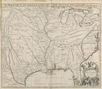 A Map of Louisiana and the River Mississippi