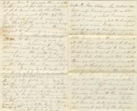 Letter to Mrs. E. Jane, October 1862