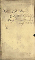 Civil War Diary of David W. James, 1863-1864