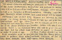 1956 Jr. Philharmonic Auditions Set