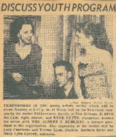 1954 Discuss Youth Program
