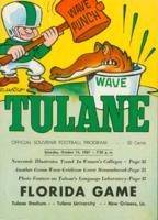 Tulane University Official Souvenir Football Program-The Greenie; Florida vs. Tulane
