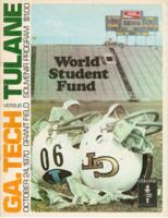 Georgia Tech Official Program; Tulane vs. GA. Tech