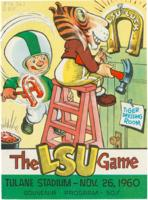 Tulane University Official Souvenir Football Program-The Greenie; The LSU Game