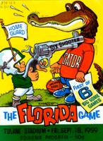 Tulane University Official Souvenir Football Program-The Greenie; The Florida Game