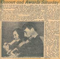 1970 Concert and Awards Saturday