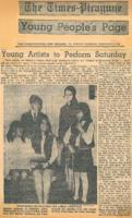 1970-02-01 Young Artists to Perform Saturday