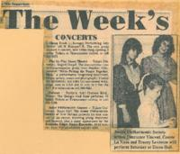 1982 Concerts