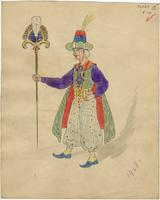Mistick Krewe of Comus 1928 costume 100