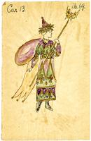 Mistick Krewe of Comus 1915 costume 69