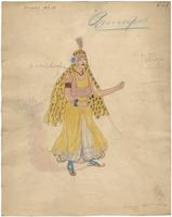 Mistick Krewe of Comus 1927 costume 109