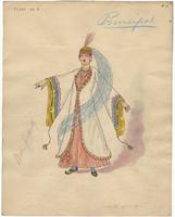 Mistick Krewe of Comus 1927 costume 11