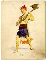 Krewe of Proteus 1907 costume 30