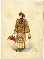Mistick Krewe of Comus 1912 costume 100