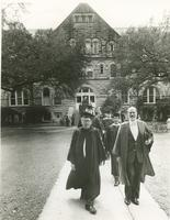 Procession of professors