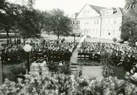 Inside Tulane May 1988 Newcomb Commencement Ceremony