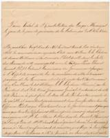 Proces-verbal of the re-installation of the municipal council of New Orleans under the authority of the government of the United States