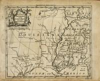 An accurate map of Louisiana, and the territory in dispute between the English and the French.