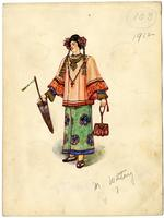 Mistick Krewe of Comus 1912 costume 103