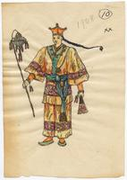Mistick Krewe of Comus 1908 costume 10