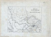 Map of the Military Operations in the Vicinity of New Orleans & Port Hudson