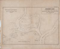 Imaginary Map showing effects of natural action on the Mississippi, Red and Atchafalaya Rivers if not counteracted. E.H. Angamar, C.E. Prepared by A.F. Wrotnowski, C.E. to accompany special report of Board of State Engineers, 1874. Plate V.