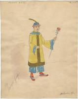 Mistick Krewe of Comus 1927 costume 104