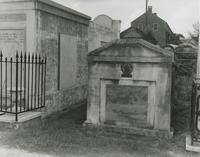 Dominique Yue Tomb, St. Louis Cemetery No. 3
