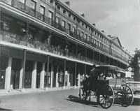 Pontalba Building, Lower. St. Ann Street at Jackson Square.