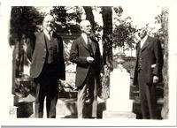 Prof. A. S. Root, Rev. D.B. Spencer, and Rev. C.H. Phillips