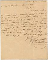 Business letter from John Goddard, Baltimore, to Messrs. Shepherd Brown and Company, New Orleans