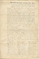 Act of mortgage granted by Bernard Marigny and his wife Anne Mathilde Morales to the Citizens' Bank of New Orleans