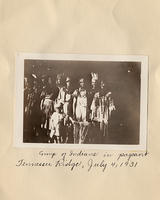Group of Indians in Pageant