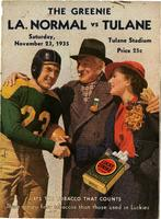 Tulane University Football Program-The Greenie; LA. Normal vs. Tulane