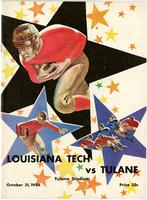 Tulane University Football Program-The Greenie; Louisiana Tech vs. Tulane