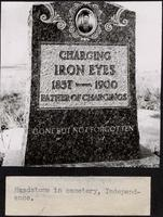 Grave of Charging Iron Eyes