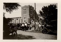 Goltry, Oklahoma, Noon, Dedication Day